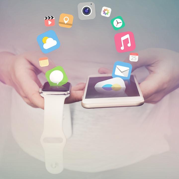 Apple, Iphone, Iwatch, Apps, Móveis, Comunicação, Tela