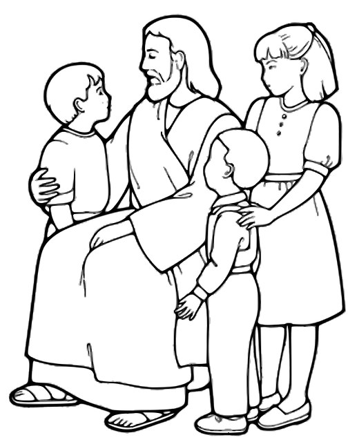 Jesus Christianity Children · Free image on Pixabay