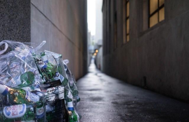 Corridor, Garbage, Depth-Of-Field, Urban, Floor, Empty