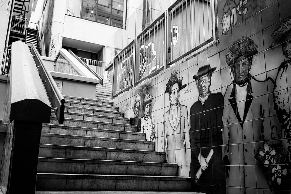 Gangsta Girl Wallpaper Hd Stairs Urban Graffiti 183 Free Photo On Pixabay