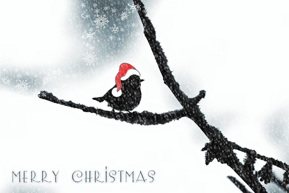 Gratis Illustratie Kerstmis Kerstkaart Gratis