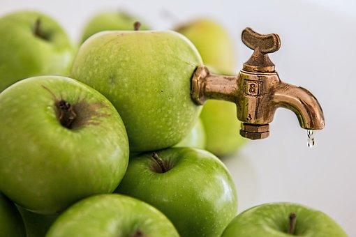 Apple Juice, Sweet, Fruit Juice, Healthy