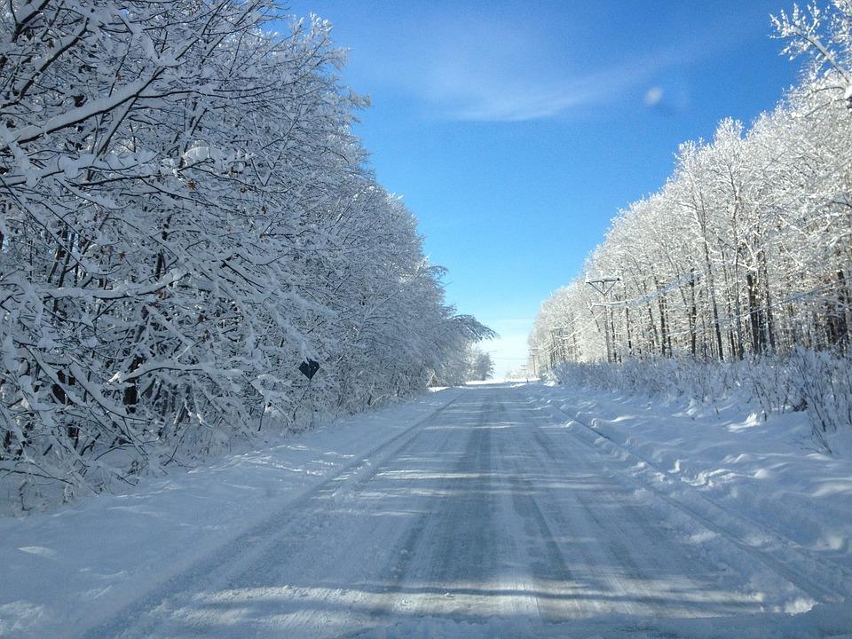 Iphone 5 Falling Snow Wallpaper Road Snow White 183 Free Photo On Pixabay