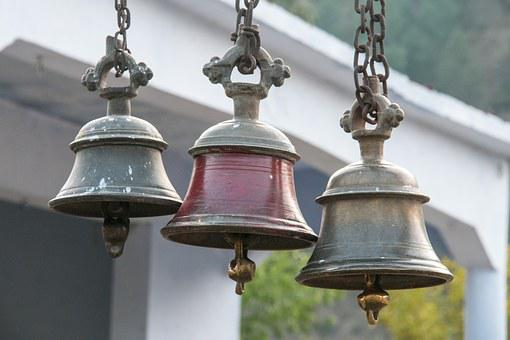 Bells, Temple Bells, Temple, Ancient, Hindu rituals, traditions, eastern religion