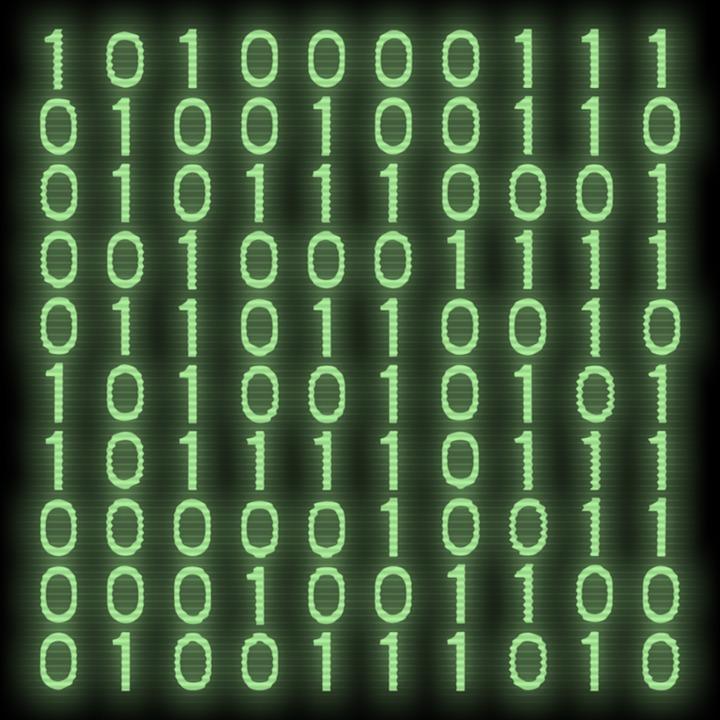 binary 1 0 computer code zero data digital