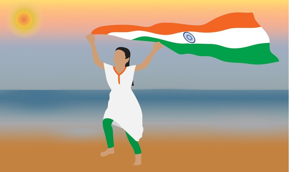 Indian Flag, Flag, India, National, Country, Nation