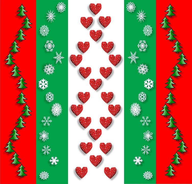 Free Illustration Christmas Snowflakes Free Image On
