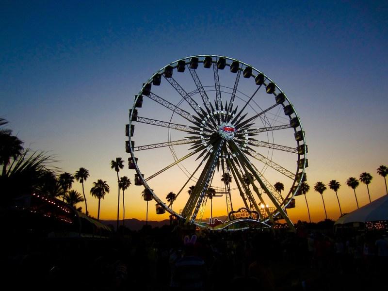 Coachella, Ferris Wheel, Big Wheel