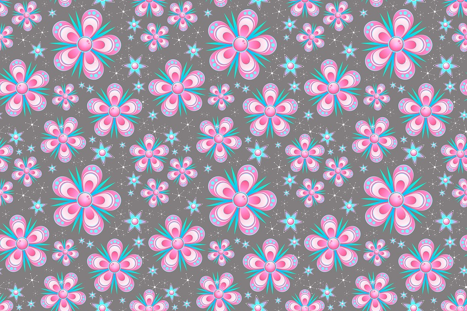Wallpaper For Fall And Autumn Seamless Pattern Flowers Pink 183 Free Image On Pixabay
