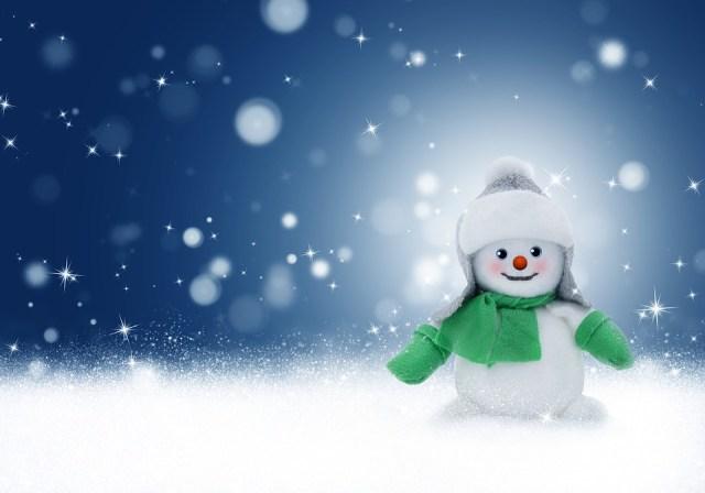 Schneemann, Schnee, Winter, Weihnachten, Glänzend