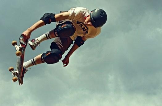 Skateboard, Timone, Protezioni, Protezione, Salto