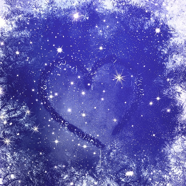 Snow Falling Gif Wallpaper Free Illustration Ice Heart Ice Flowers Frost Cold