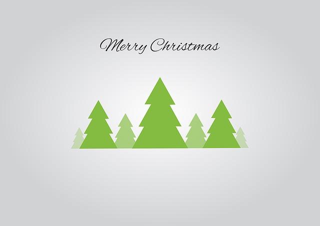 Christmas Tree Holidays Merry Free Image On Pixabay