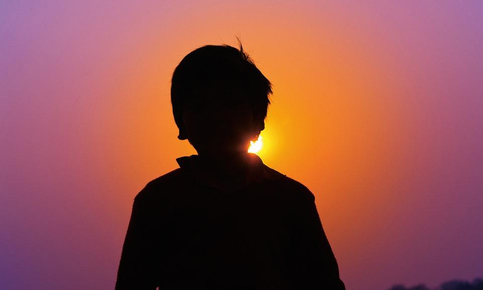 Wallpaper Girl Boy Holding Hands Free Photo Sunset Boy India Travel Asia Free Image