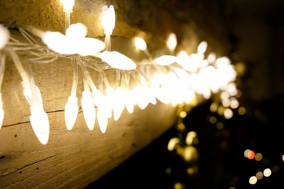 Foto gratis Luces Navidad Luces De Navidad  Imagen