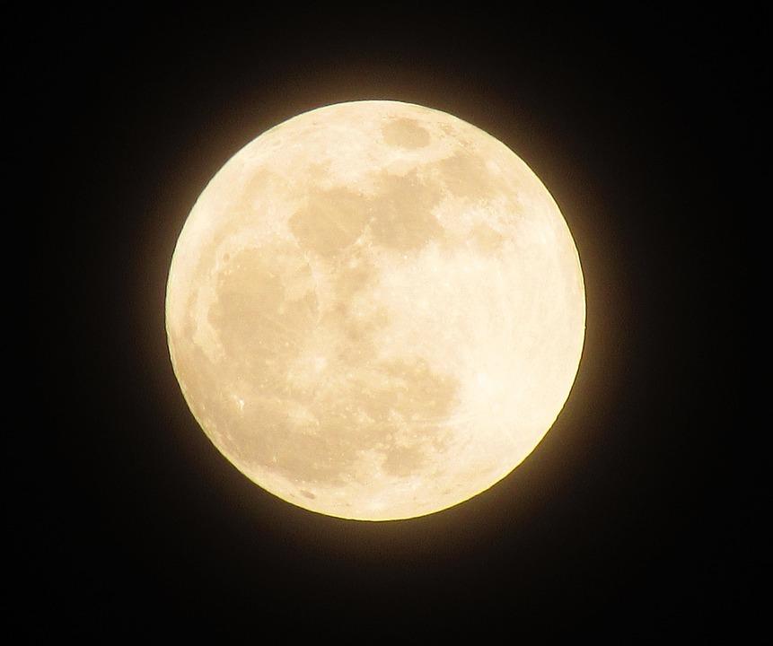 moon full night the