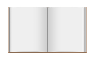 blank pages pixabay hardcover spread illustration