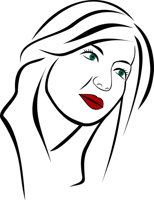 Free vector graphic: Portrait, Woman, Girl, Face, Person