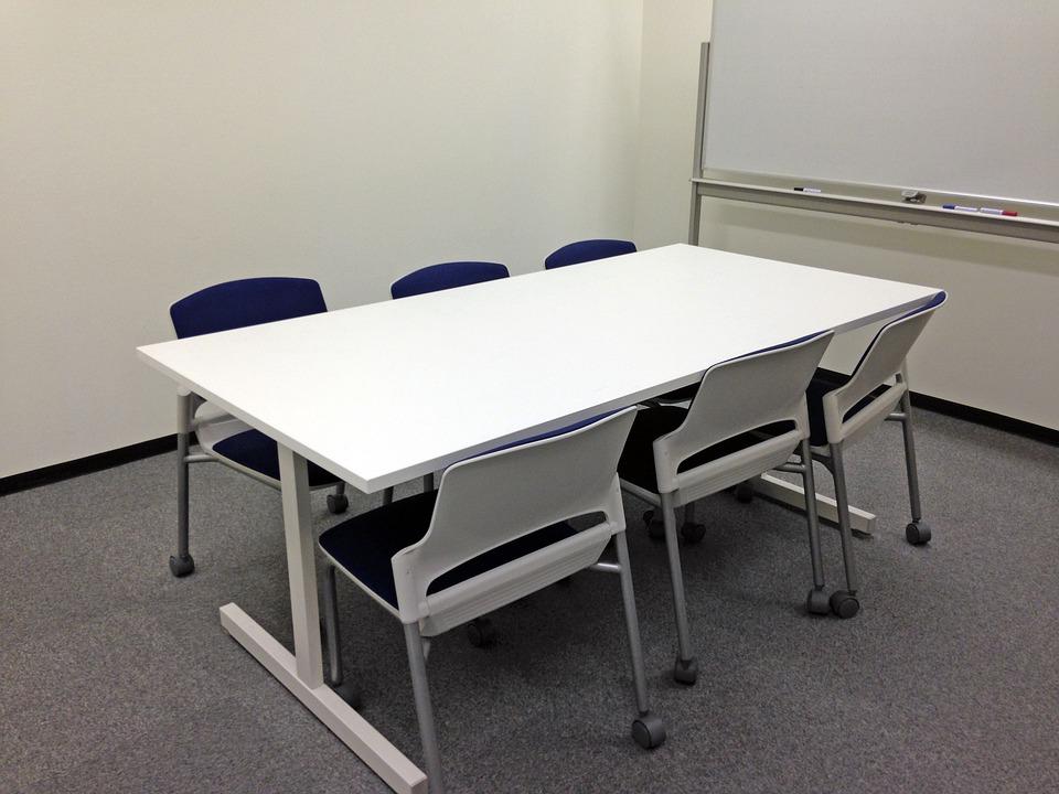 White Modern Desk Chair
