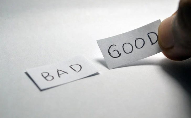 良い, 悪い, 反対, 選択, 意思決定, 肯定的です, ワード, 記号, 決定, 希望