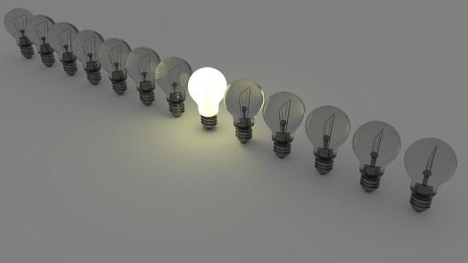Lampadine, Lampadina, Luce, Energia, Lampada, Idea