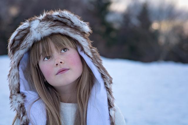 Free Photo Person Human Female Girl Winter Free