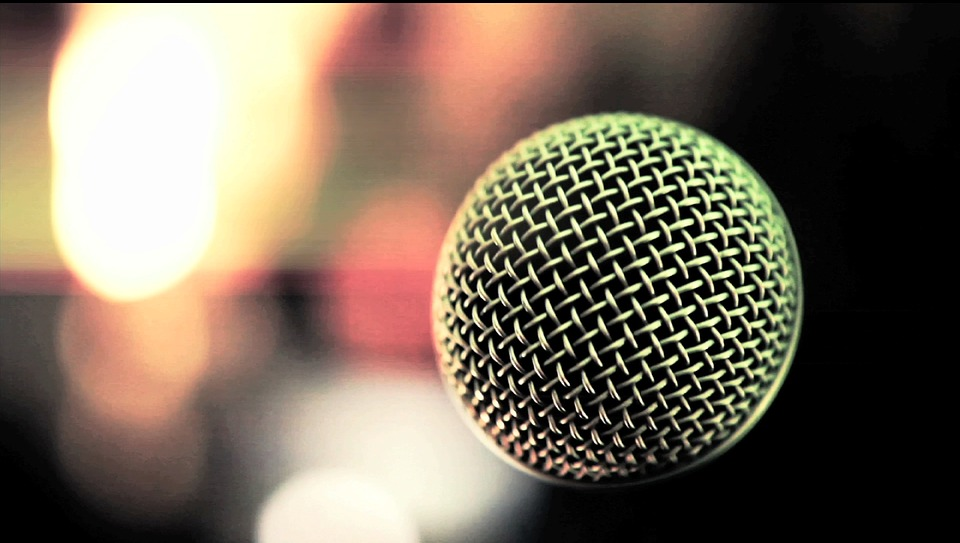 Microphone Blur Background Free Photo On Pixabay