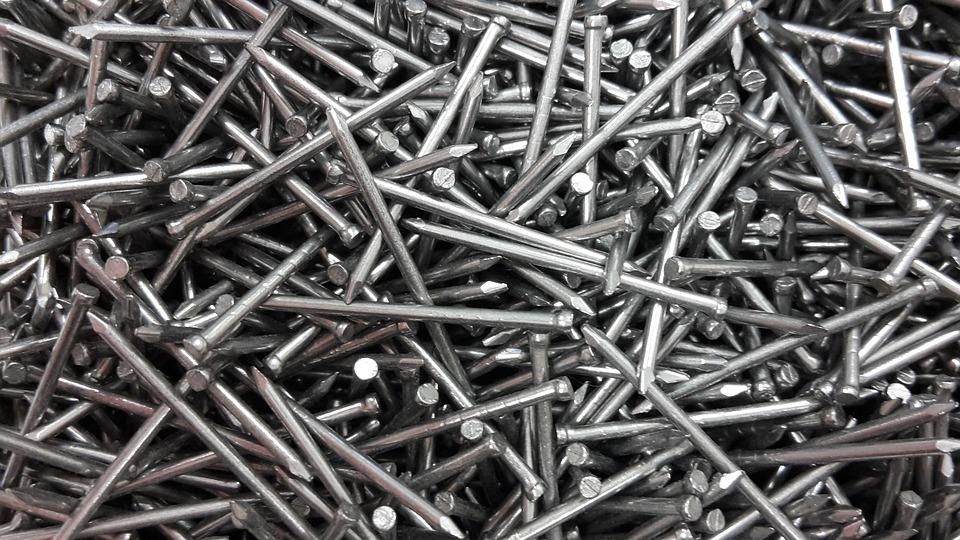 nails iron metal free