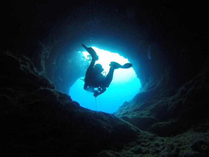 Resultado de imagen de cueva submarina