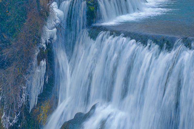 Falls Wallpaper Waterfall Cascade Ice Water 183 Free Photo On Pixabay