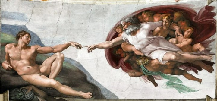Creation Of Man, God Finger
