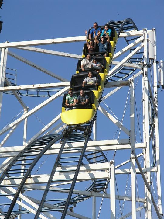 Rollercoaster Amusement Park Fun  Free photo on Pixabay