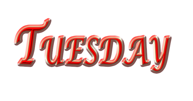 Free Illustration Tuesday Day Weekday Red Tuesday