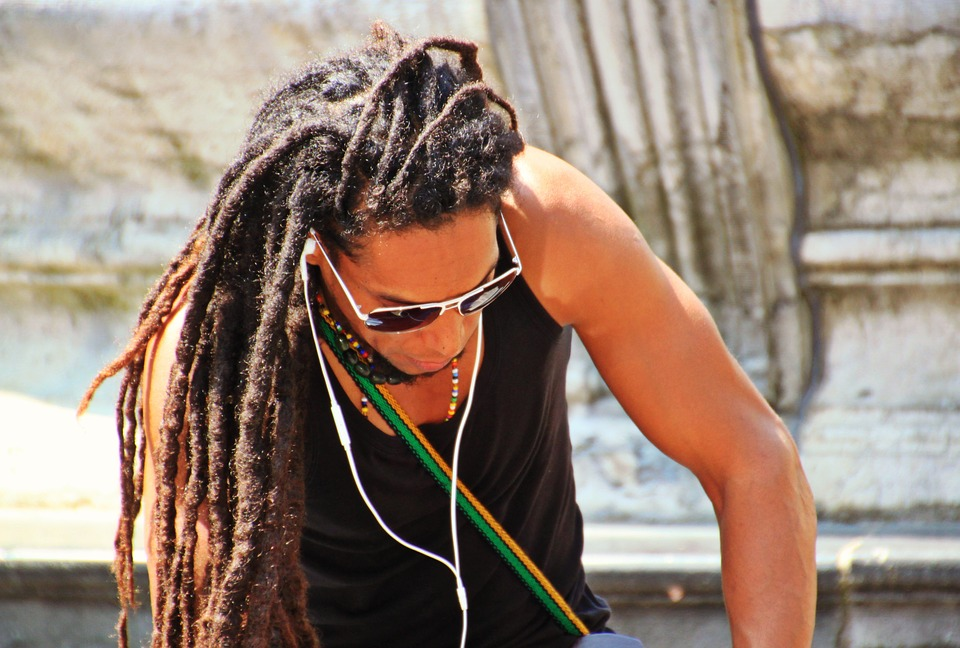 Free photo: Man, Rasta Braids, Hairstyle, Hair
