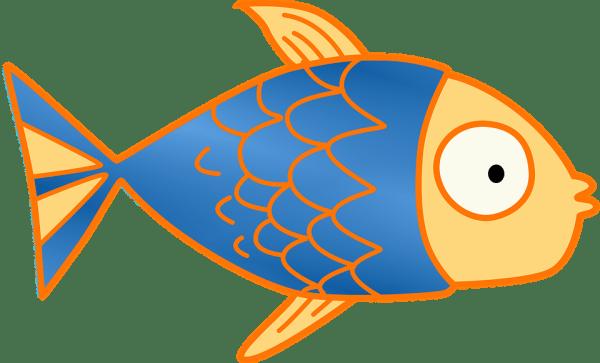fish kids clip art free