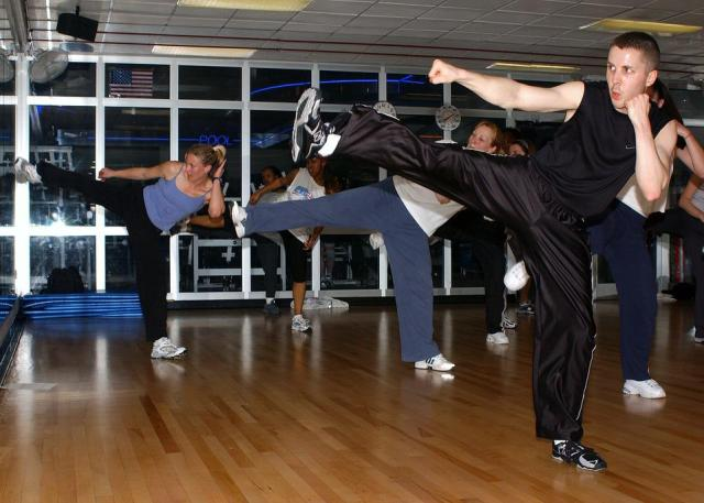 Kickboxing Course, Gym, Training, Meeting, Fitness