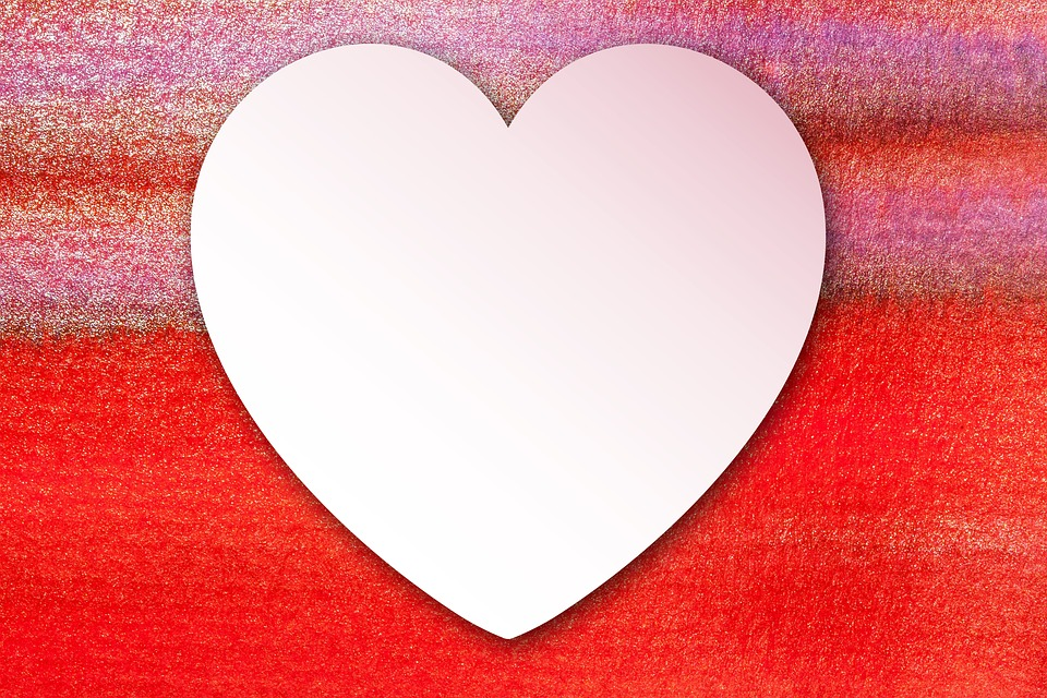 Free Illustration Love Heart Paper Watercolor Free