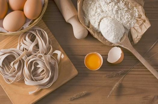 Pasta, Fettuccine, Cibo, Italiano, Gastronomia, Uova