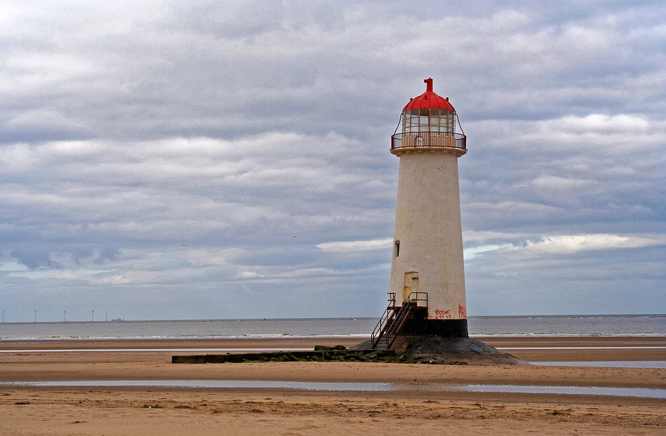 free picture lighthouse tower beach