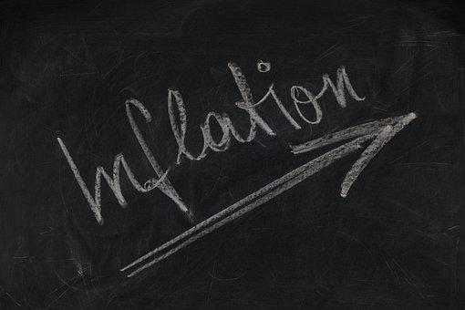 Board, Blackboard, Economy, Inflation