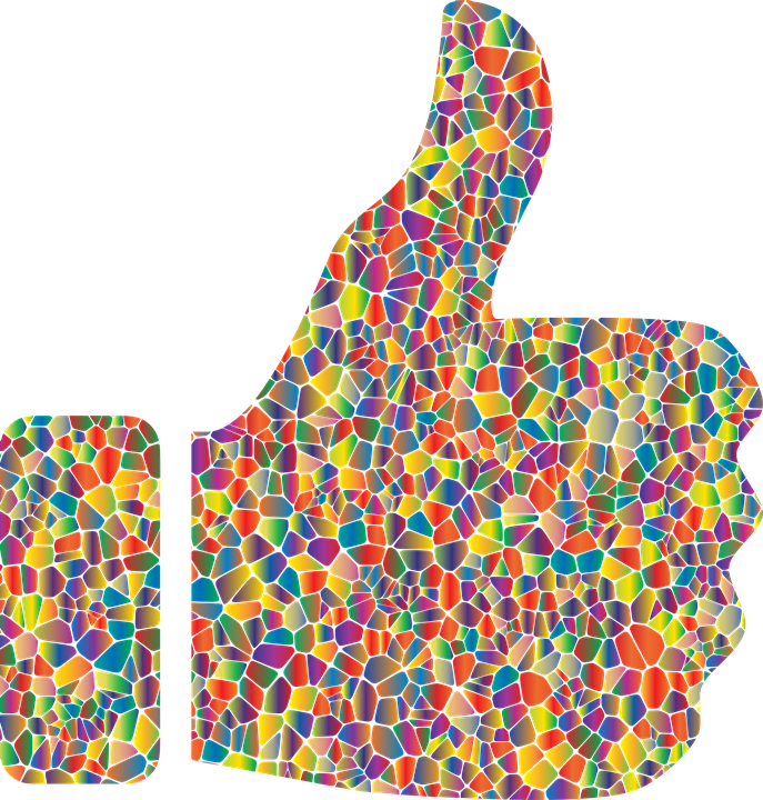 Free vector graphic Thumbs Up Hand Approve Like  Free