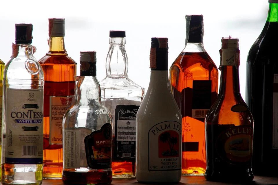 Alcohol, Bottles, Counter, Bar, Alcoholic, Brandy