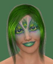 free illustration woman hair