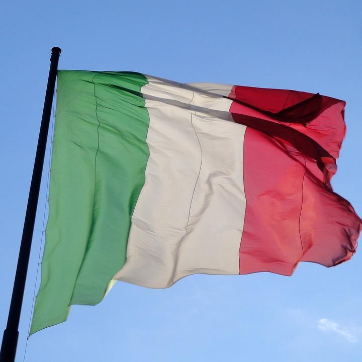 Italy, Flag, Italian, Wind