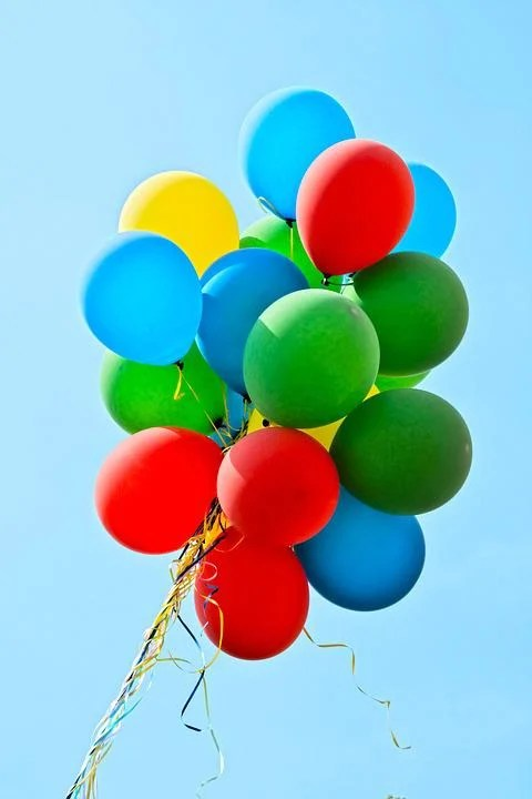 Free photo Balloons Party Colorful  Free Image on Pixabay  1211008