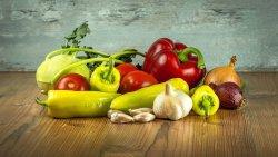 野菜, トマト, パプリカ, ニンニク, 玉葱, コールラビ, ビタミン
