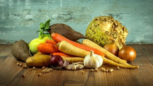 Verdure, Carote, Aglio, Sedano, Cibo, Salute, Vitamine