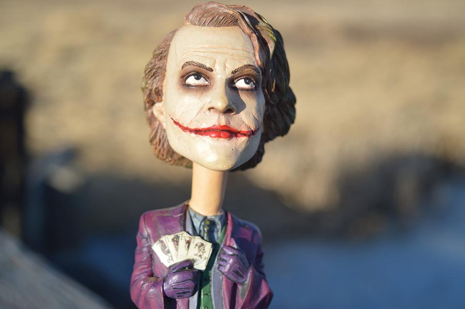 Joker bobble head