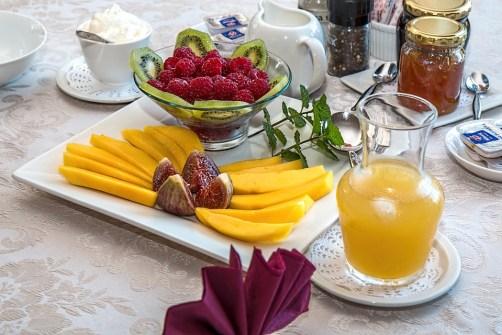 Prima Colazione, Frutta Fresca, Mangiare Sano
