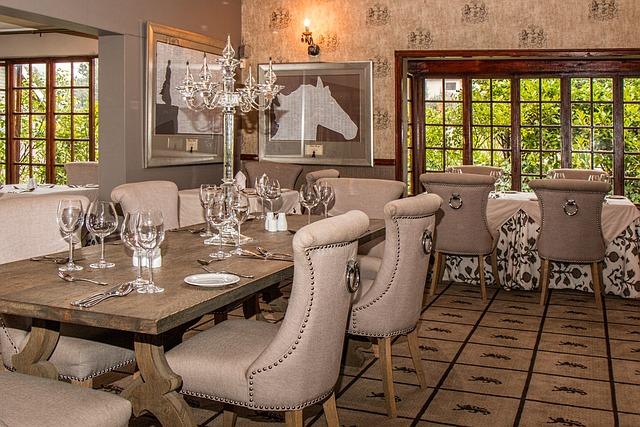 Free photo Hotel Dining Room Restaurant  Free Image on